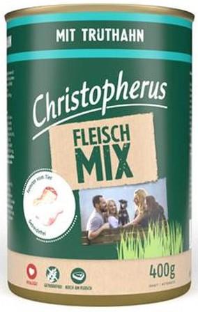 Christopherus Fleischmix - mit Truthahn 400g-Dose