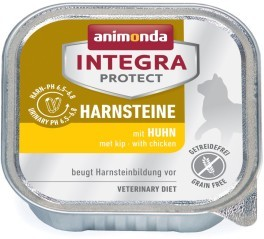 Animonda Cat Schale Integra Protect Harnsteine mit Huhn 100g