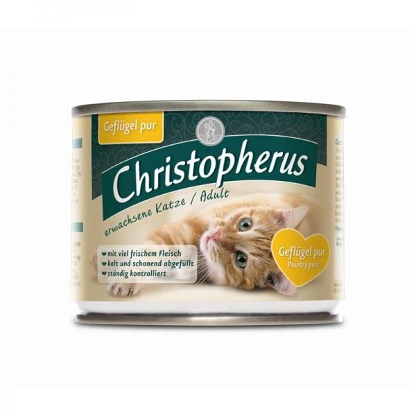 Christopherus Cat Dose Erw. Katzen Geflügel pur 2