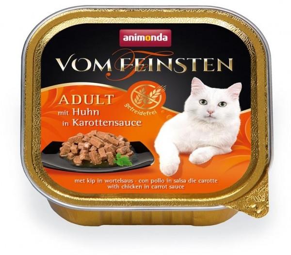 Animonda Cat Vom Feinsten mit Huhn in Karottensauce 100g