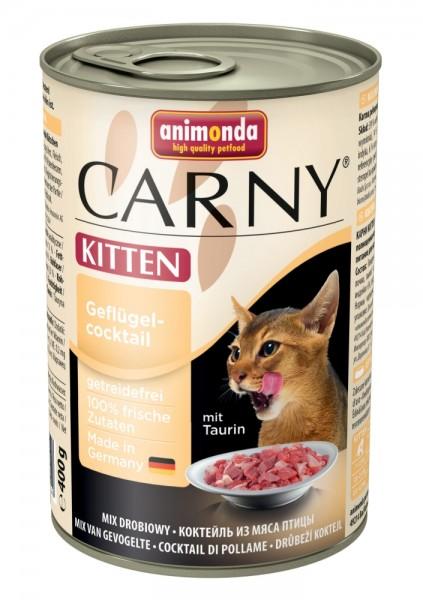 Animonda Cat Dose Carny Kitten Geflügelcocktail 400g