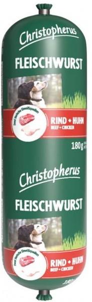 Christopherus Fleischwurst - Rind & Huhn 180g