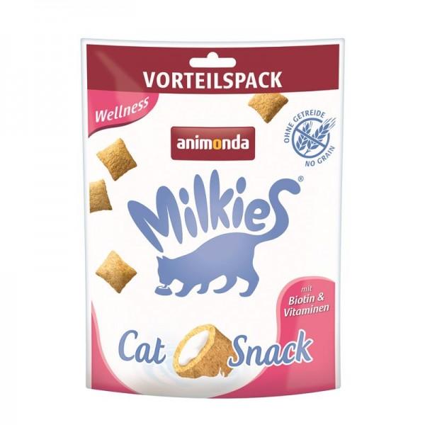 Animonda Snack Milkie Knusperkissen Wellness 120g