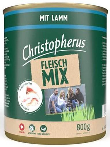 Christopherus Fleischmix - mit Lamm 800g-Dose