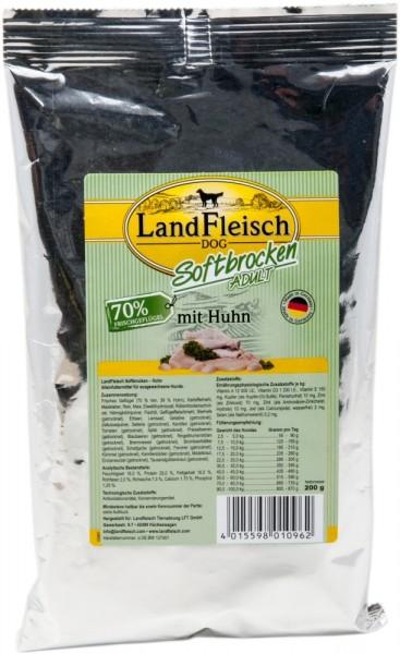 Landfleisch Softbrocken Huhn 200g