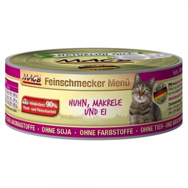 Macs Cat Huhn & Makrele 100g Dose