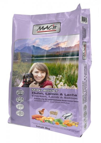 MACs Adult Mini Huhn, Lamm, Lachs 3 kg