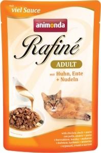 Animonda Cat Portionsbeutel Rafine Soupé Huhn, Ente & Nudeln 100g