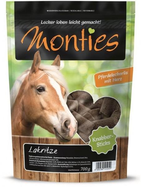 Allco Monties Pferde Snack Lakritze Sticks - gepr