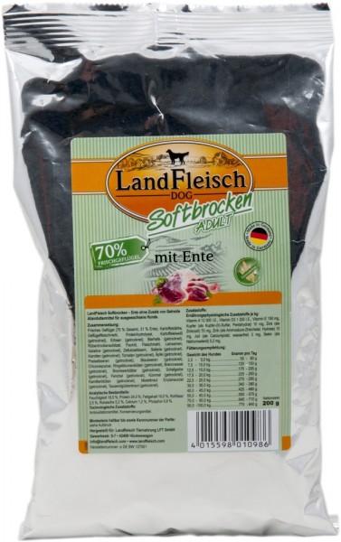 Landfleisch Softbrocken Ente 200g
