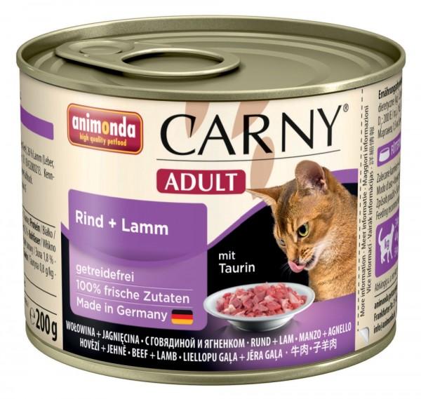 Animonda Cat Dose Carny Adult Rind & Lamm 200g