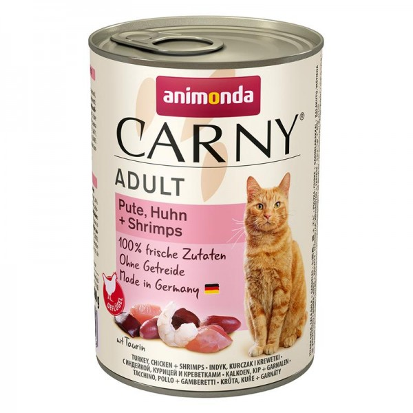 Animonda Cat Dose Carny Adult Pute & Huhn & Shrimps 400g