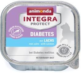 Animonda Cat Schale Integra Protect Diabetes mit Lachs 100g