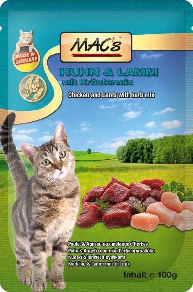 Macs Cat Lamm & Malz 100g Frischebeutel
