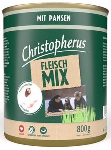 Christopherus Fleischmix - mit Pansen 800g-Dose