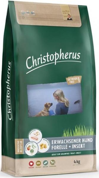 Christopherus Getreidefrei Forelle & Insekt 4kg
