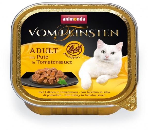 Animonda Cat Vom Feinsten mit Pute in Tomatensauce 100g