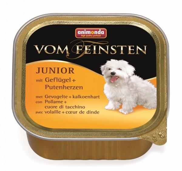 Animonda vom Feinsten Junior Geflügel & Putenherzen 150g