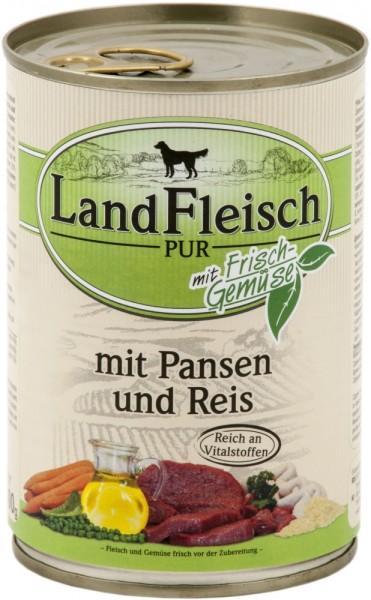 Landfleisch Pur Pansen & Reis 400g