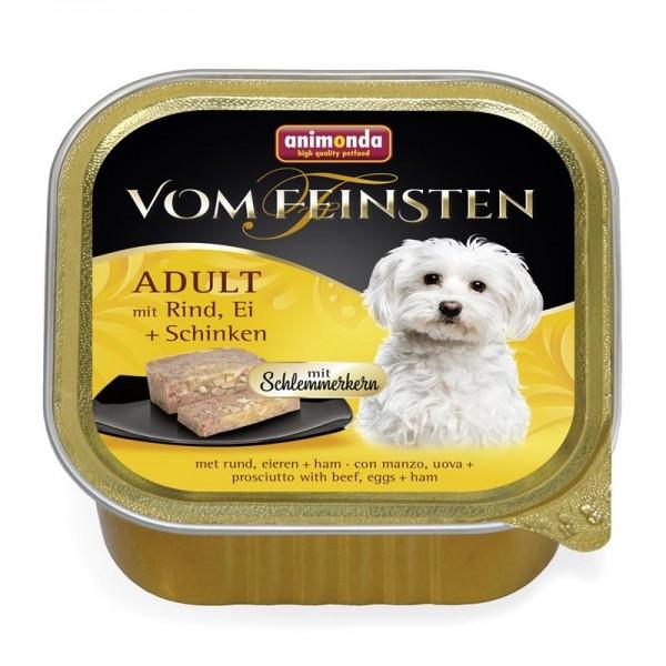Animonda Dog Vom Feinsten Schlemmerkern mit Rind, Ei & Schinken 150g