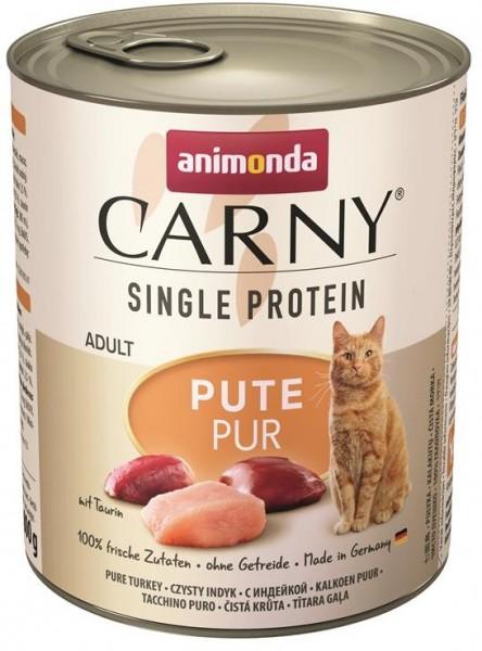 Animonda Cat Dose Carny Adult Single Protein Pute 800g
