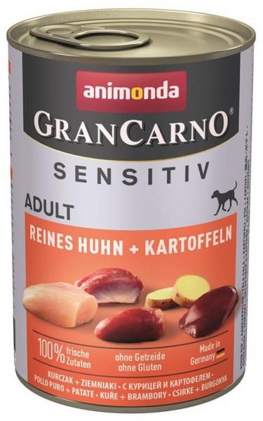 Animonda GranCarno Adult Sensitive Huhn + Kartoff