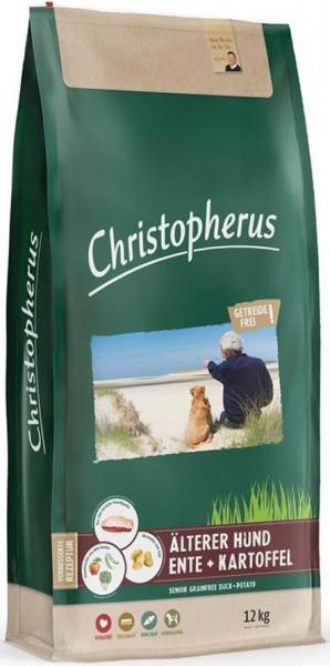 Christopherus Getreidefrei Senior Ente + Kartoffel 12kg