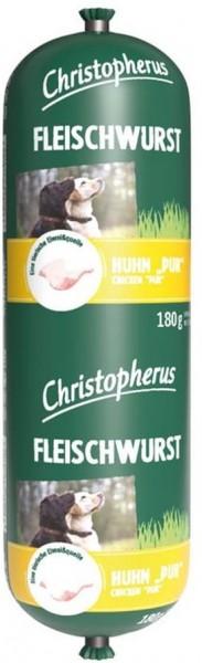 Christopherus Fleischwurst - Huhn Pur 180g