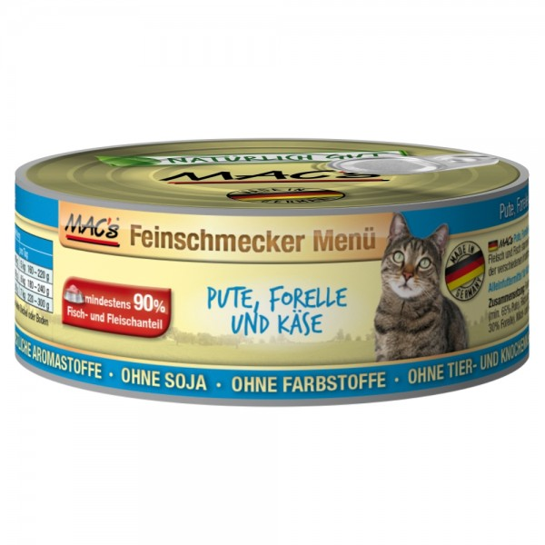Macs Cat Pute & Forelle 100g Dose