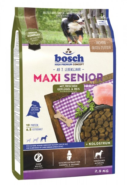 Bosch Maxi Senior Geflügel 2,5 kg