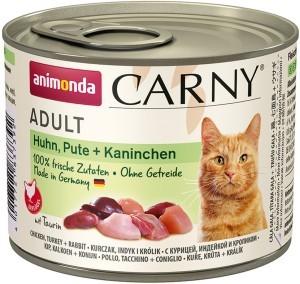 Animonda Cat Dose Carny Adult Huhn & Pute & Kaninchen 200g