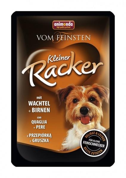 Animonda Dog Kleine Racker Wachtel & Birnen 85g Frischebeutel