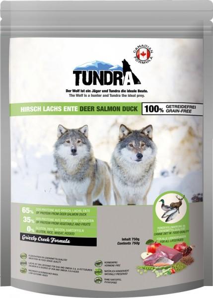 Tundra Hirsch, Ente & Lachs - Grizzly Creek 750g