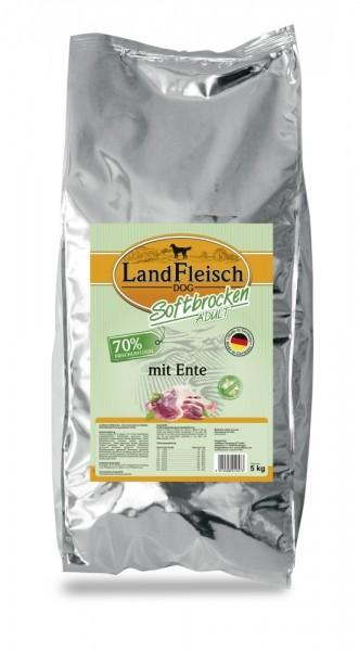 Landfleisch Softbrocken Adult mit Ente 5kg