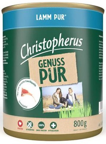Christopherus Pur Lamm 800g-Dose