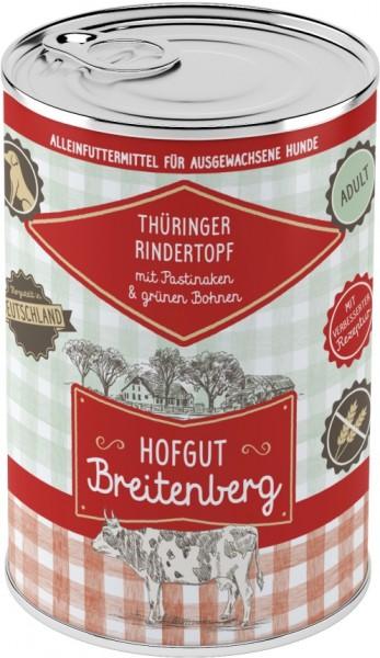 Hofgut Breitenberg Dog Thüringer Rindertopf mit Pastinake