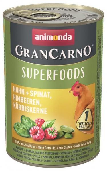 Animonda Dog Dose GranCarno Adult Superfood Huhn+Spinat 4