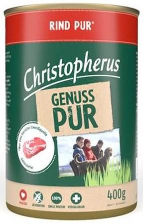 Christopherus Pur Rind 400g-Dose