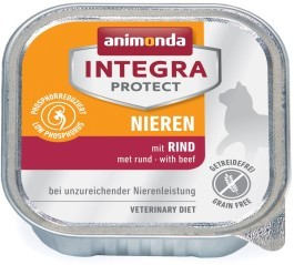 Animonda Cat Schale Integra Protect Niere mit Rind 100g