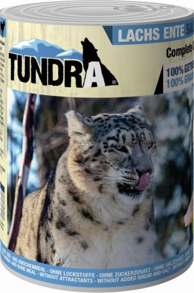 Tundra Cat Lachs & Ente 400g Dose