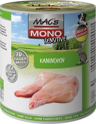 Macs Dog Mono Kaninchen 800g Dose