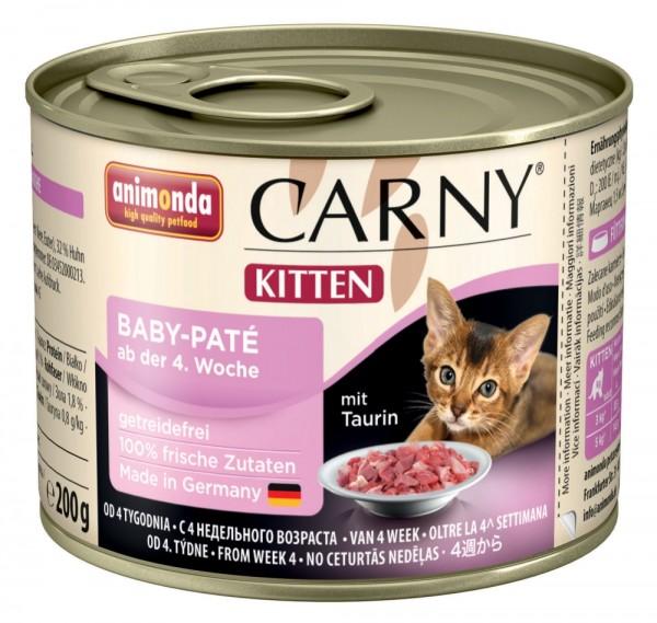 Animonda Cat Dose Carny Kitten Baby-Paté 200g