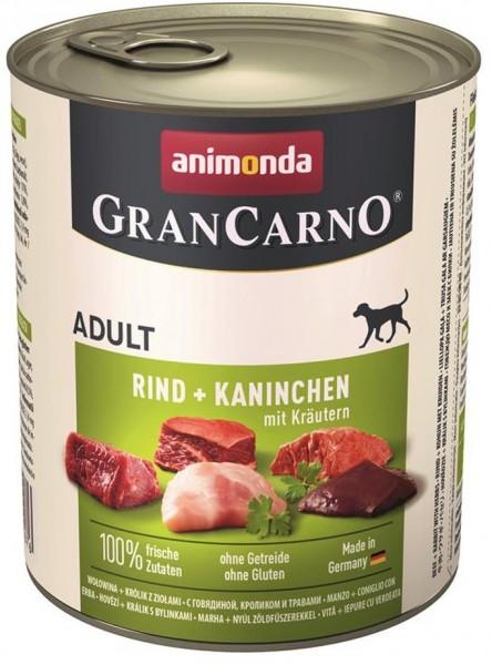 Animonda GranCarno Adult Kaninchen & Kräuter 800g Dose